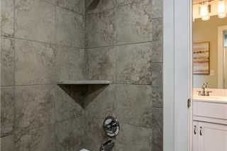 The New Haven 1.5 Story. Jack & Jill Bath Shared by Bedroom 2 & Bedroom 3. Pictures are of Previous Model, Not Actual Home. Pictures May Feature Upgrades. Please Contact Listing Agent for Stage of Construction, Upgrades, and Available Buyer Selections.