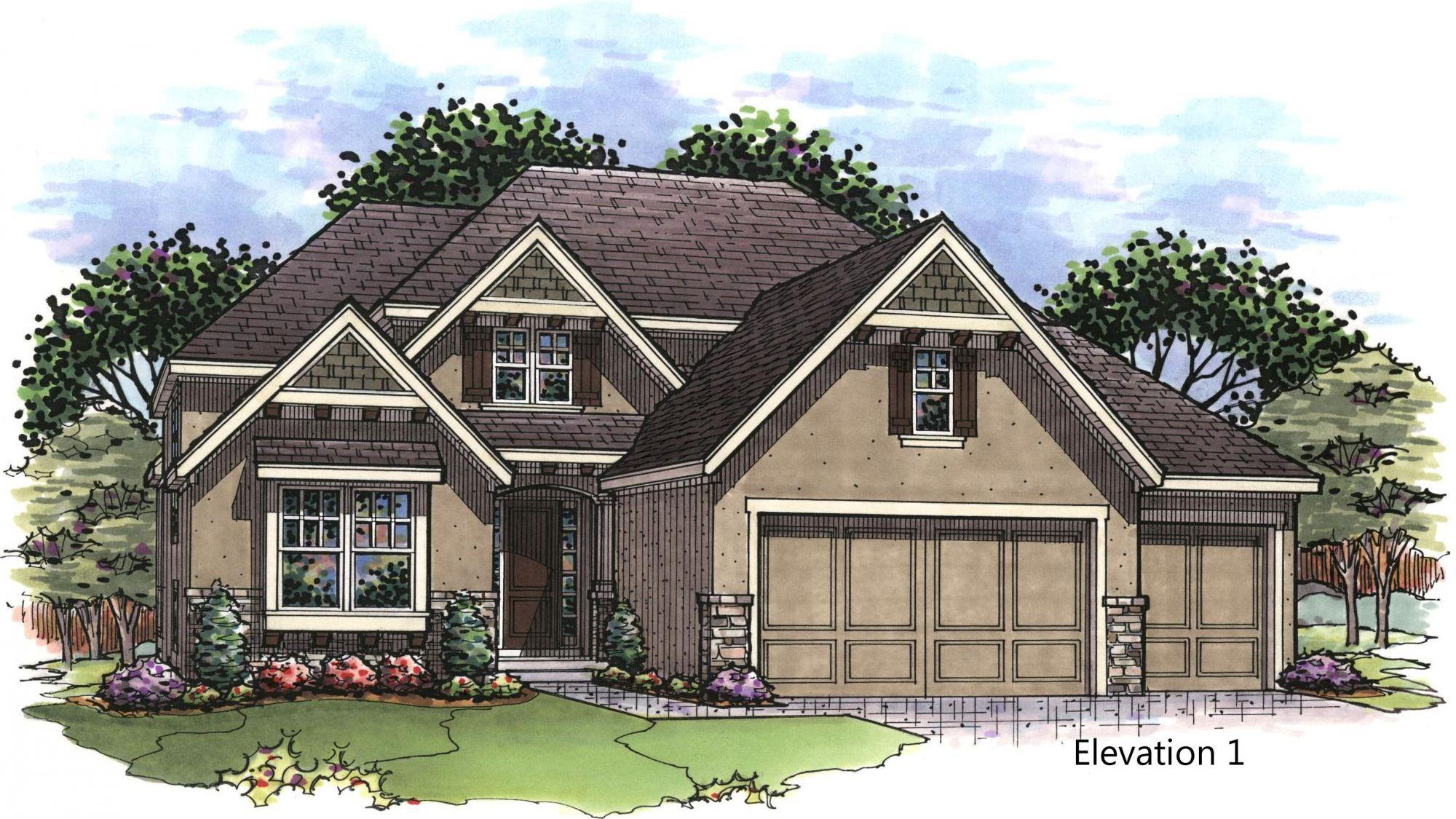 Kingston Elev 1 front rendering