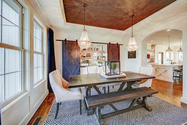 Dining Room Rockford Model