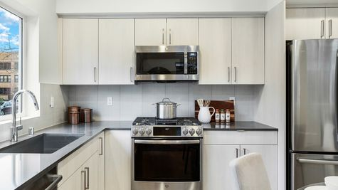 The Foster Kitchen Appliances at 214 17th Ave E by Sage Homes Northwest