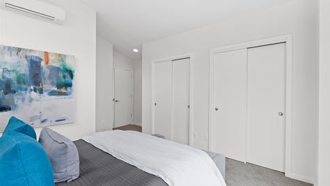 Primary Bedroom Closets of the Alvar by Sage Homes Northwest