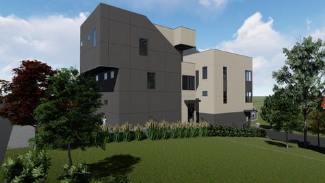 Exterior View from Alley of 926 N 35th Street in Fremont by Sage Homes Northwest