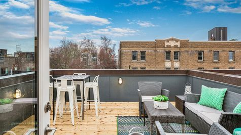The Foster Roof Deck by Sage Homes Northwest
