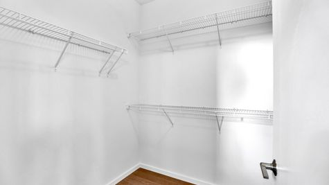 Master Walk-in Closet of 926 N 35th Street in Seattle by Sage Homes Northwest