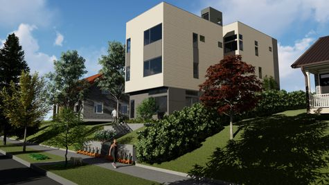 Exterior of 926 N 35th Street in Fremont by Sage Homes Northwest