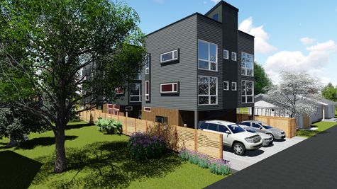 Alley View of 214 17th Ave E by Sage Homes Northwest