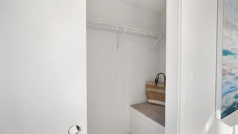 Master Closet of the Eero by Sage Homes Northwest