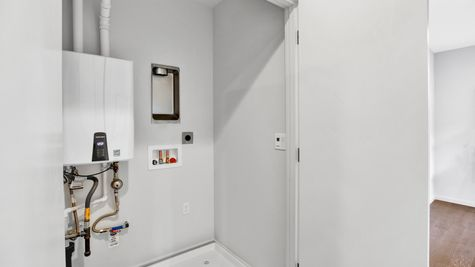 Laundry of 926 N 35th Street in Seattle by Sage Homes Northwest