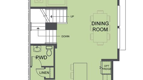 The Mies Second Floor Plan at Westbrook by Sage Homes Northwest