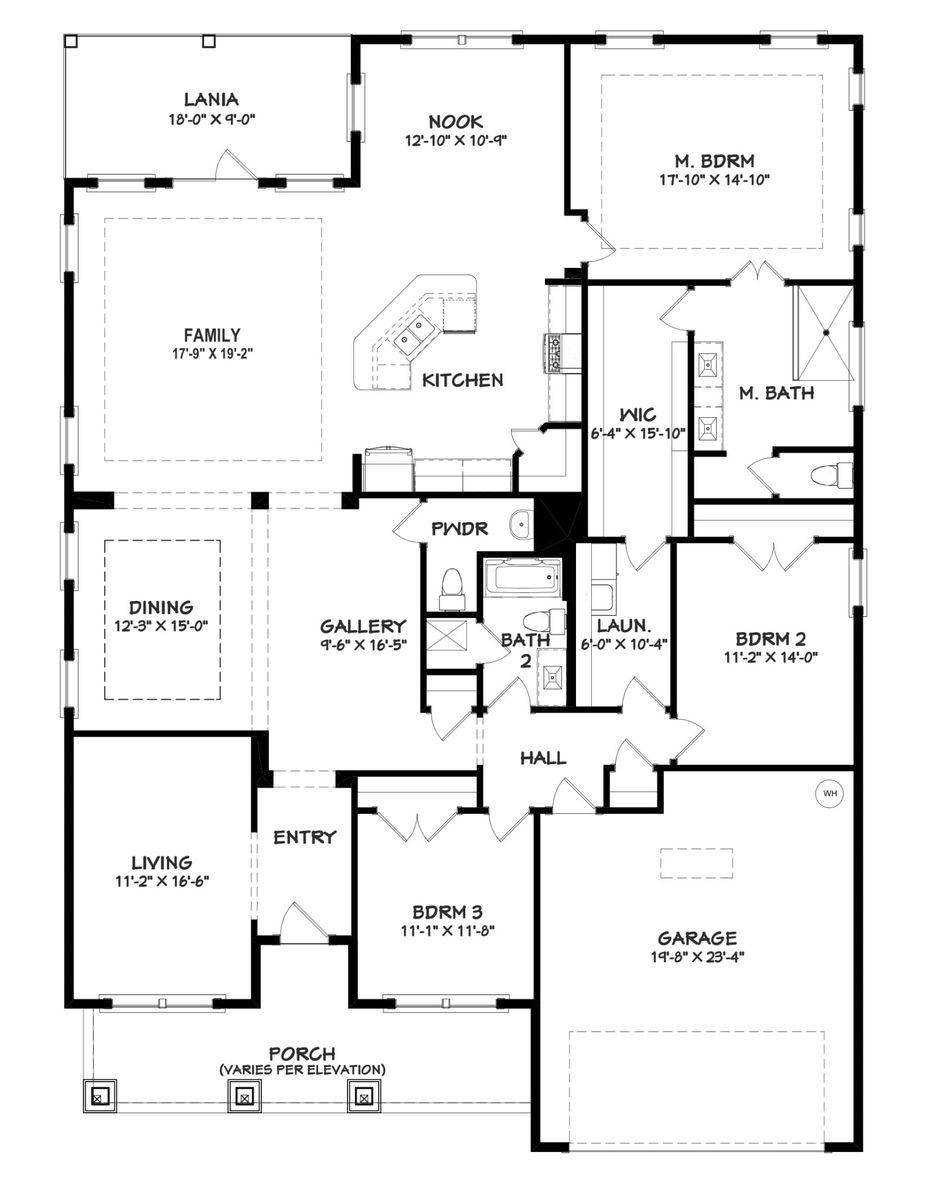 Tripletail I Floor Plan