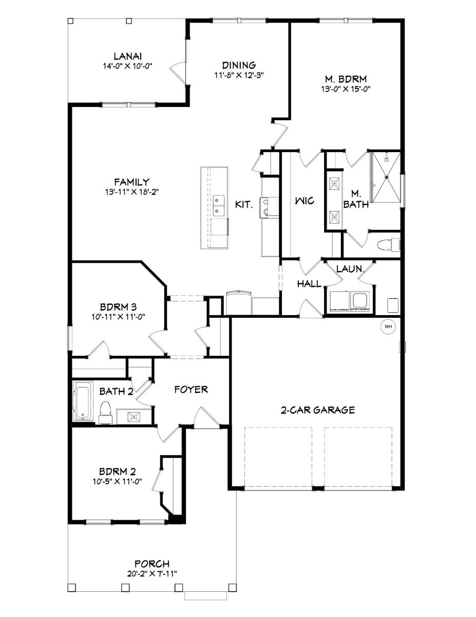 Miramar Floor Plan