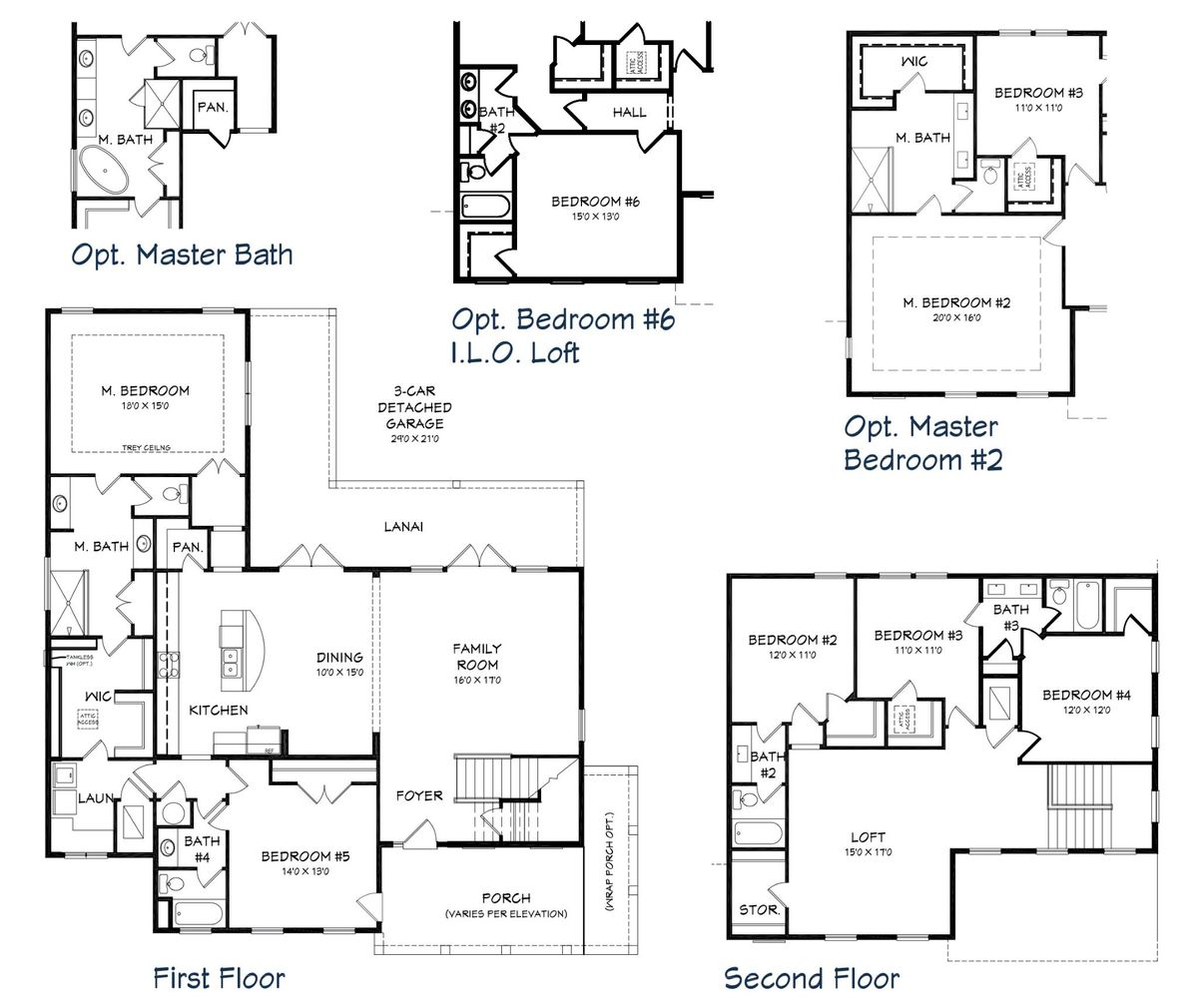 St. George Floor Plan