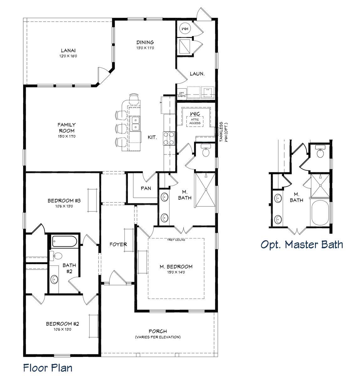 Orchid Floor Plan