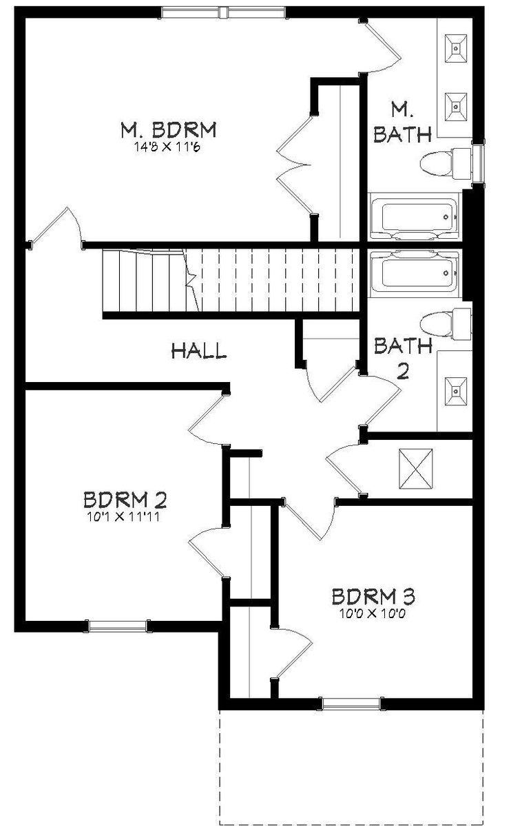 Escape Floor Plan - 2nd Floor