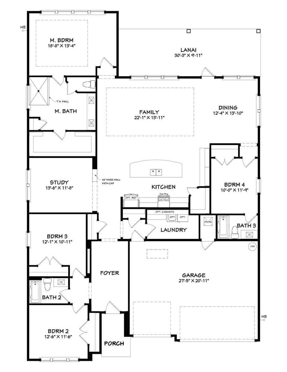 Tracewood Floor Plan
