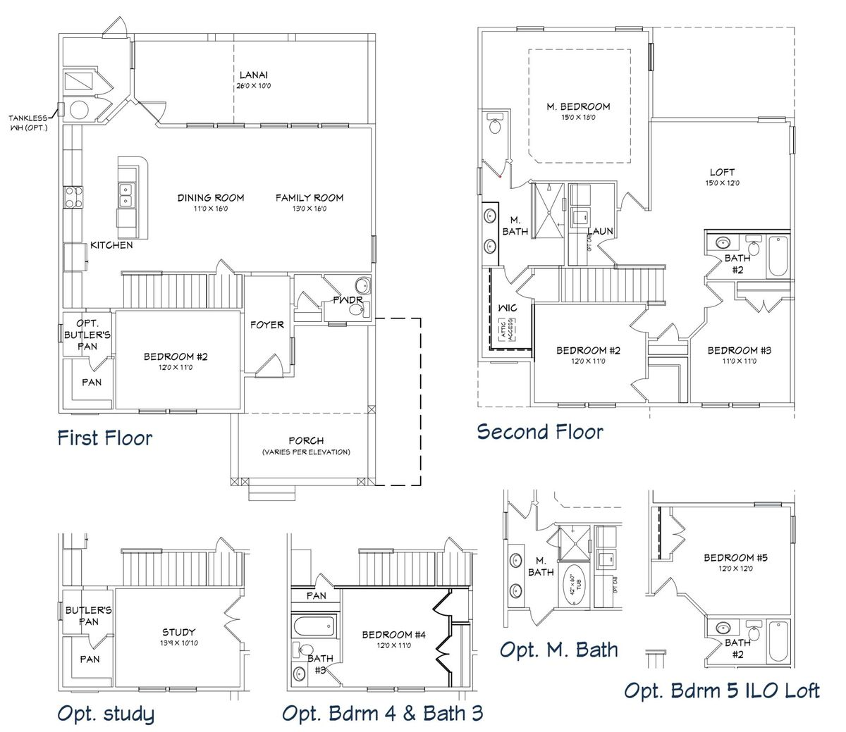 Captiva Floor Plan