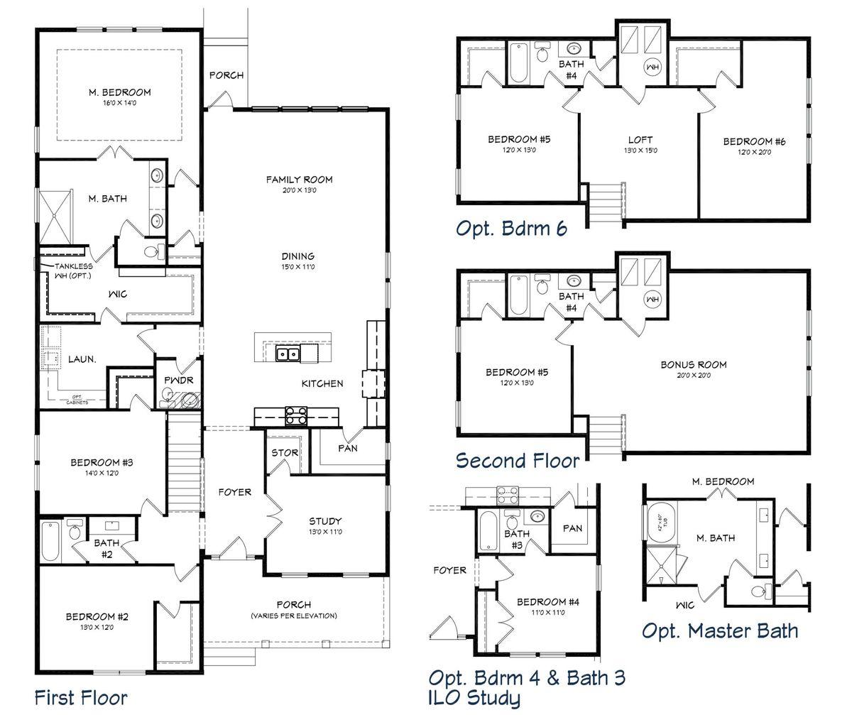 Marco II Floor Plan