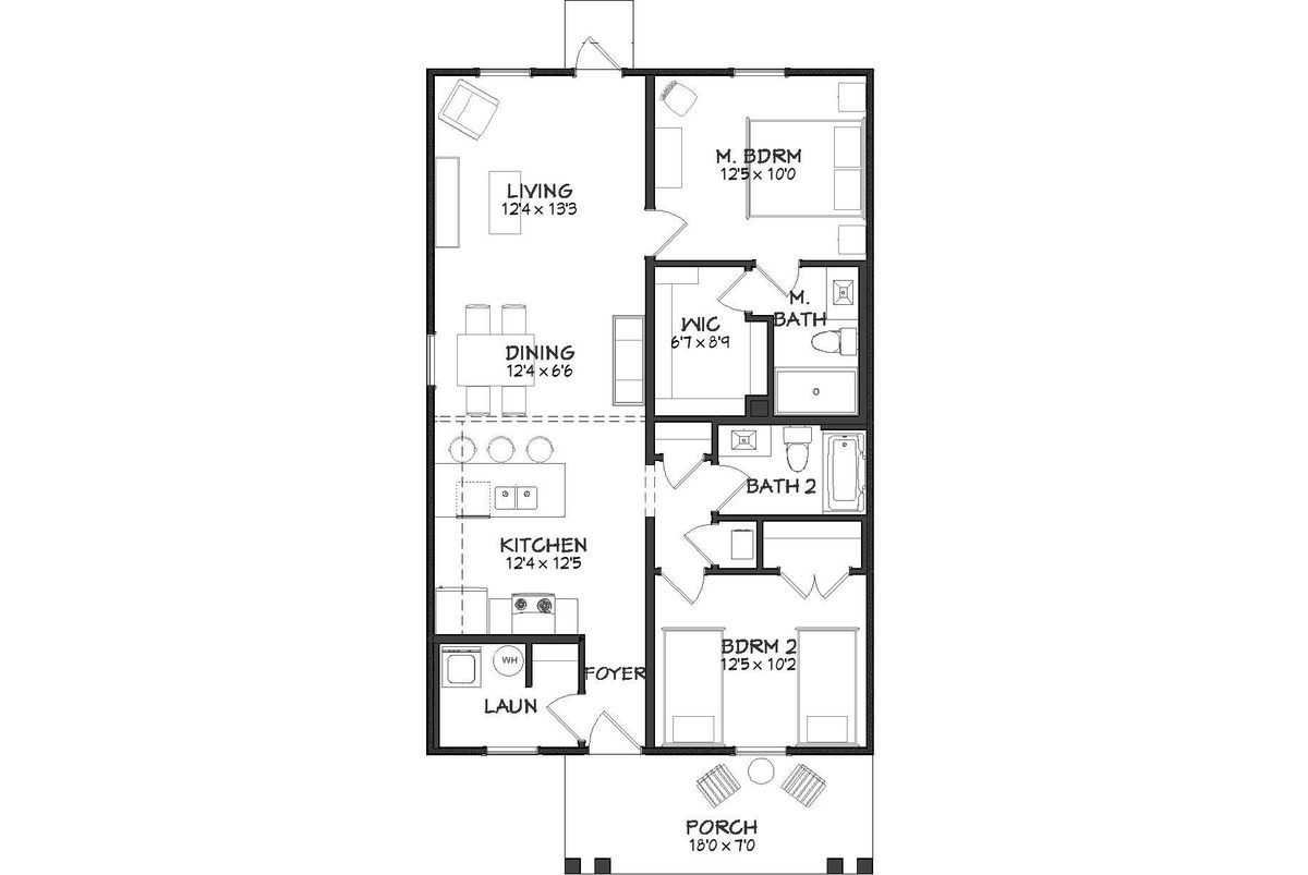 Whisper Carolina Floor Plan