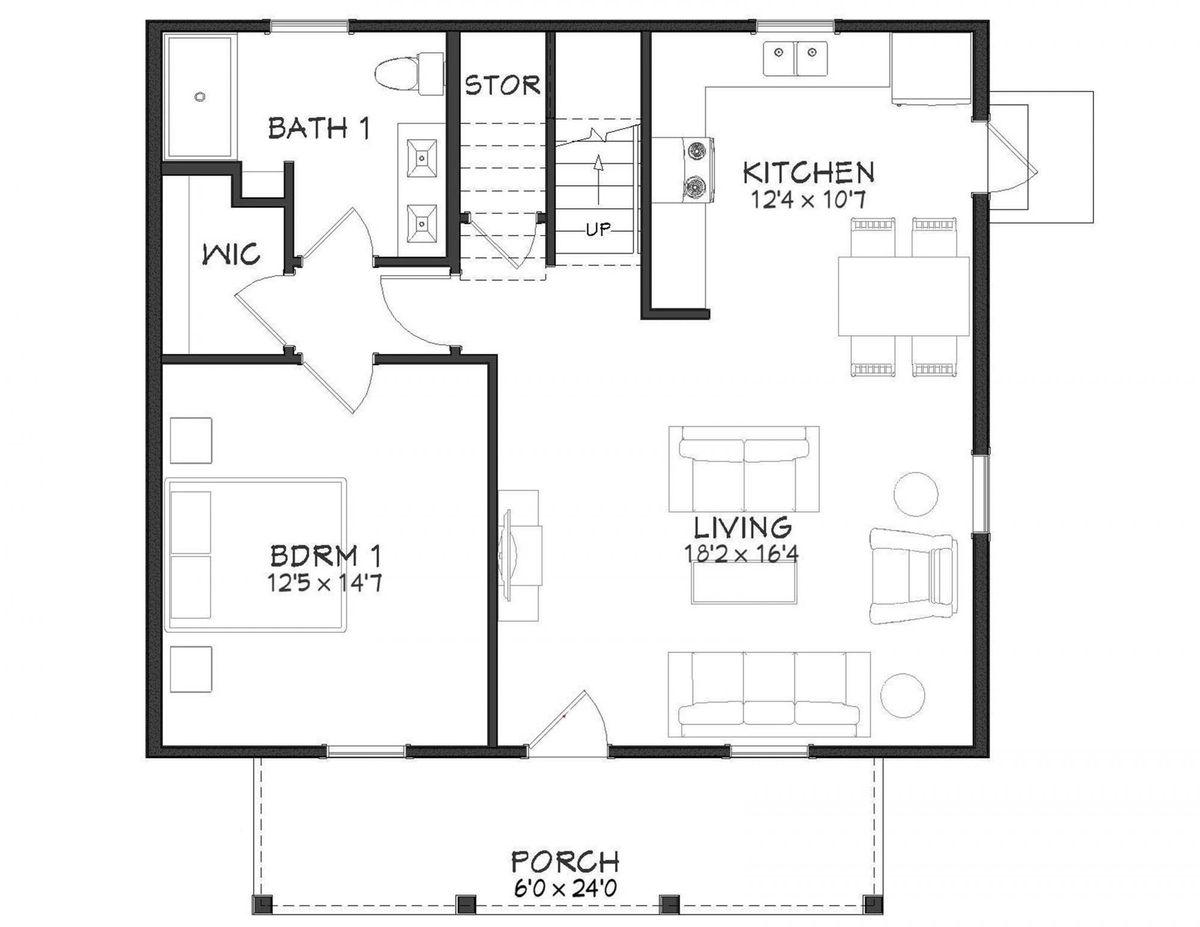 Orion Floor Plan - 1st Floor