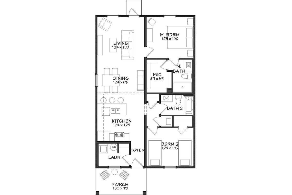 Whisper Coastal Floor Plan