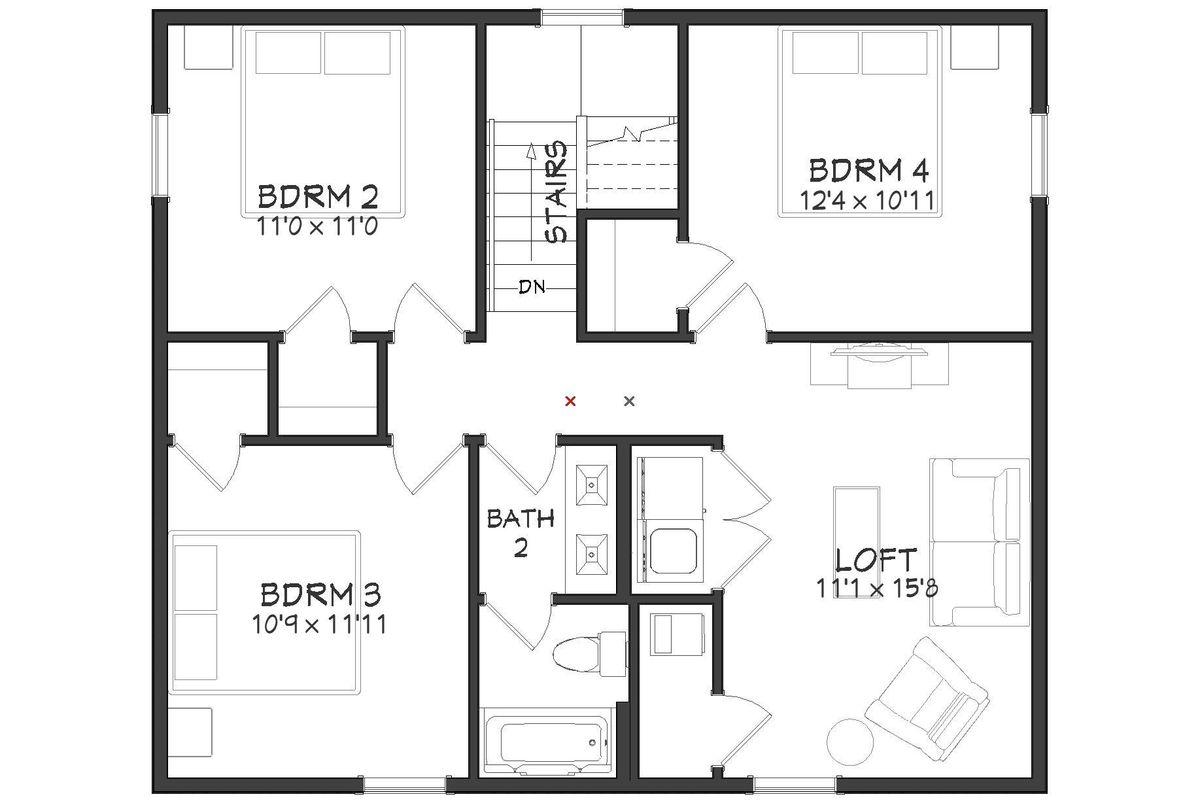 Orion Floor Plan - 2nd Floor