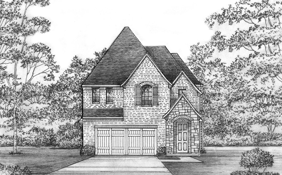 Plan Photo - Haslet - 3404 CH