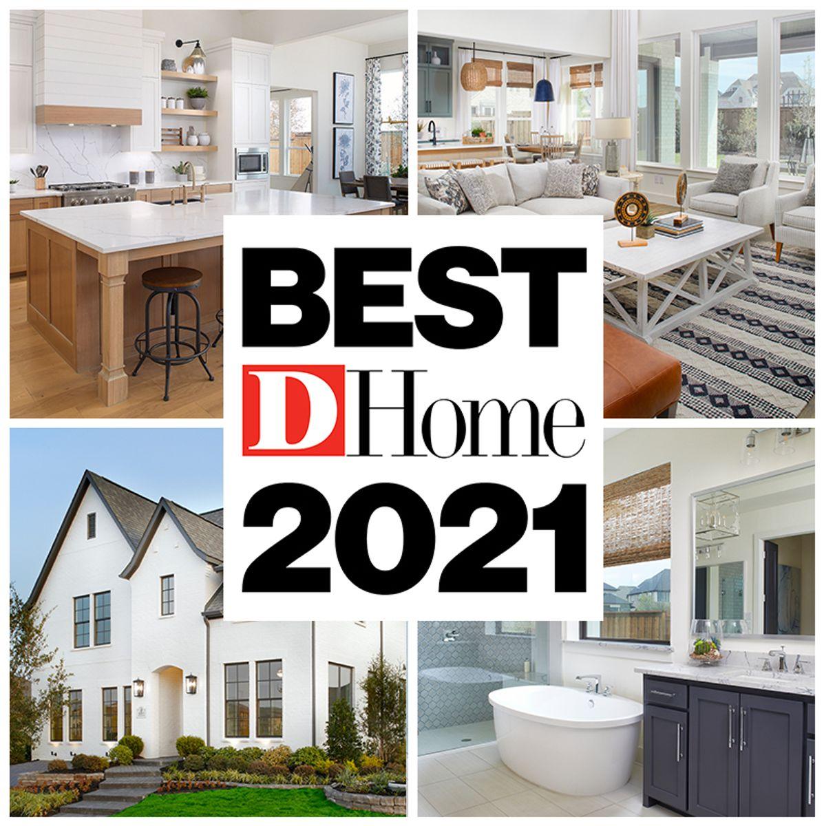 D Home's 2021 Best Builders!
