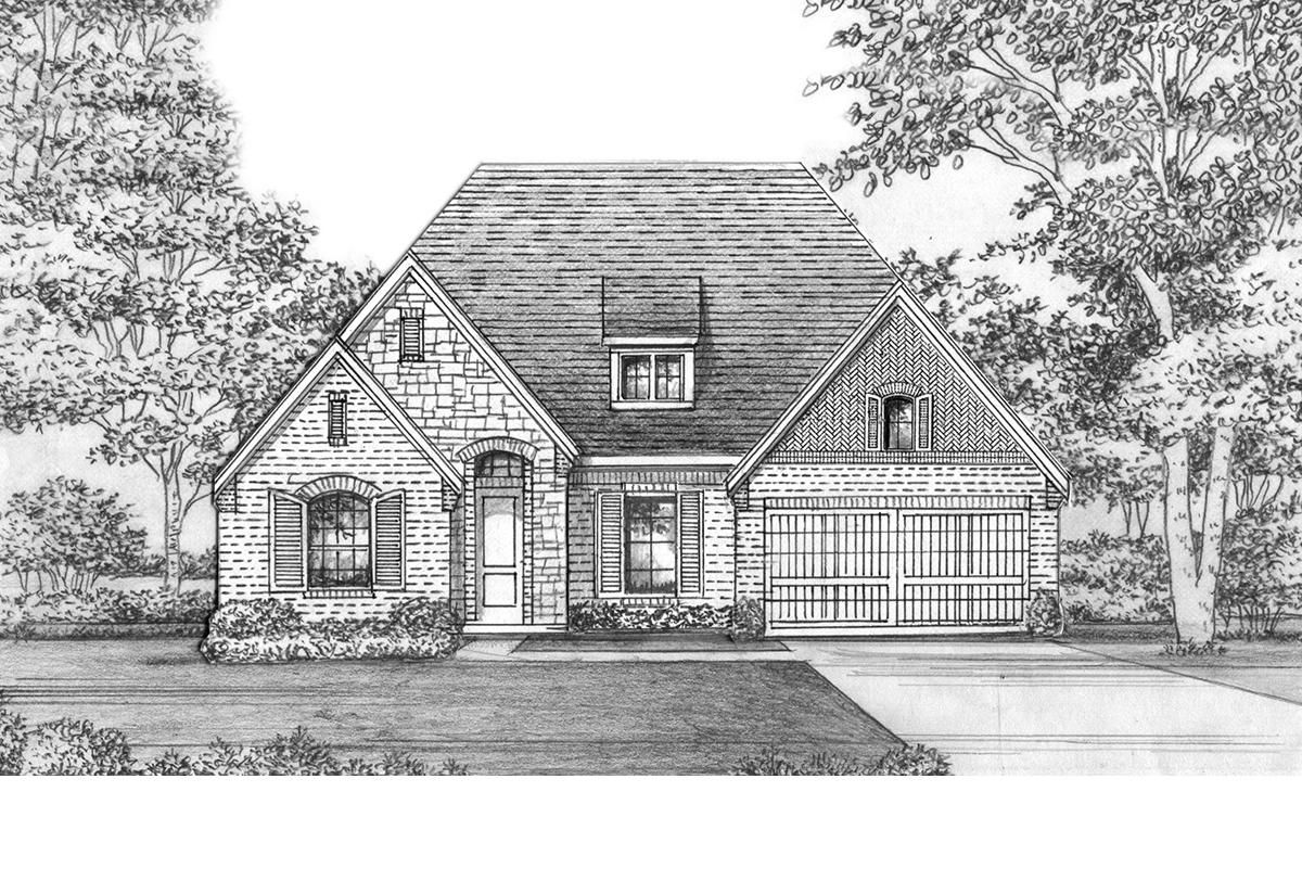 Plan Photo - Bowie - 5412 PS