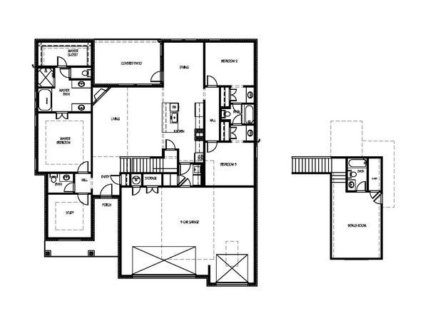 4923 Deerfield Ave Floorplan