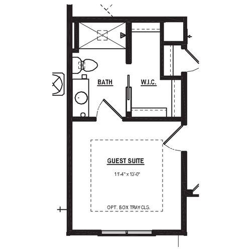 Optional Guest Suite