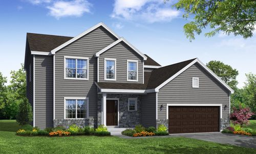 Ashbury Traditional Front Elevation Rendering