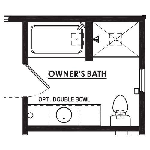 Optional Luxury Bathroom