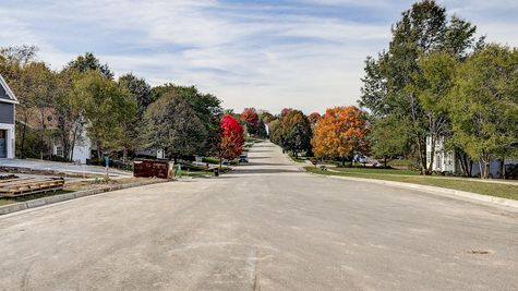 Entrance of Autumn Ridge Estates by Tim O'Brien Homes