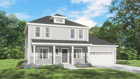Mahogany Classic Front Elevation Rendering