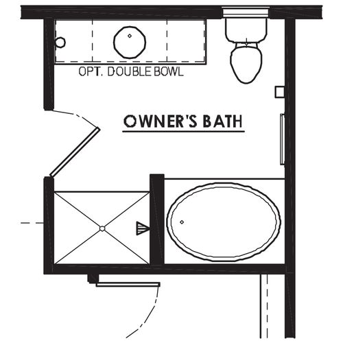 Optional Luxury Bathroom