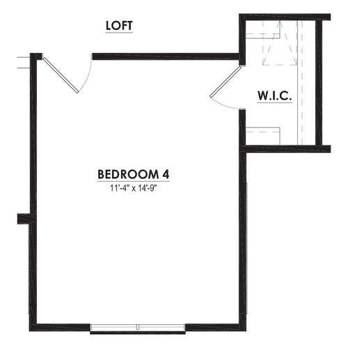 Optional Bedroom 4 Expansion with Bedroom 5
