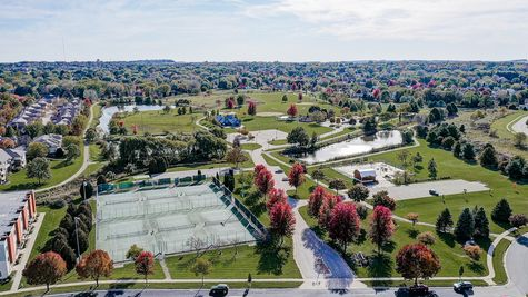 Aerial view of Fitchburg, WI near Terravessa Neighborhood