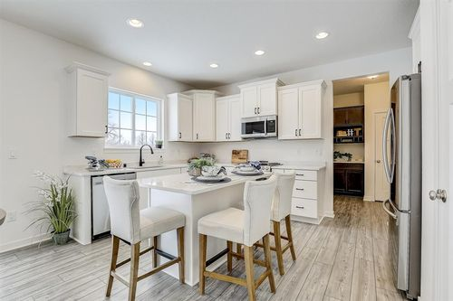 Tim O'Brien home in Madison WI with a white kitchen