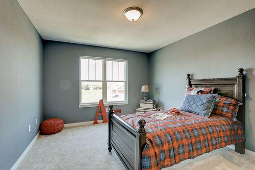 Boy bedroom by Wisconsin home builders Tim O'Brien
