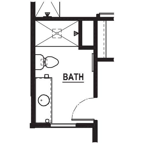 Optional Bedroom 4 Ensuite Bathroom