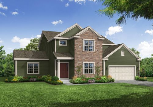 Carlow French Country Rendering