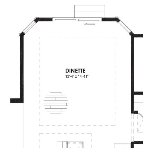 Optional Dinette 2 Foot Bay