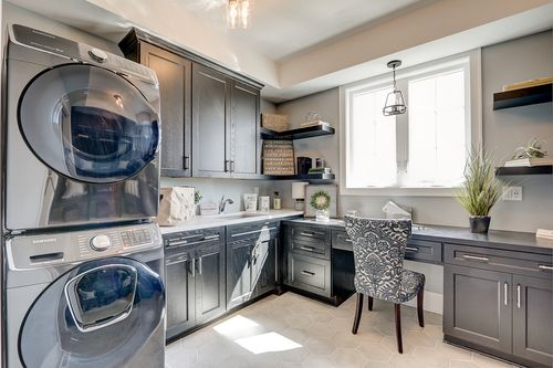 Utility room in a Tim O'Brien new home