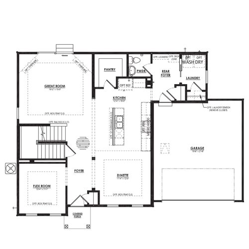 Mulberry First Floor Plan Drawing