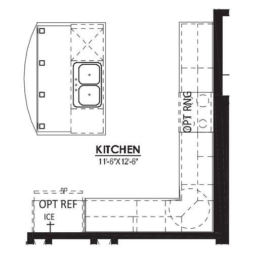 Alternate Kitchen Island