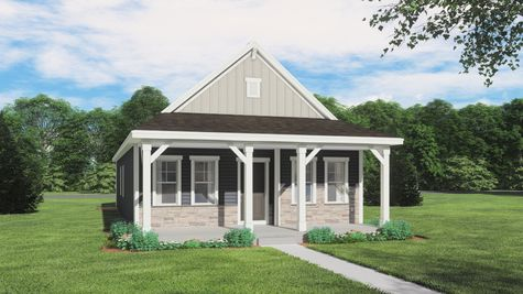 Beckett Farmhouse Rendering