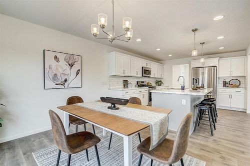 Open floor plan in a Milwaukee WI new home