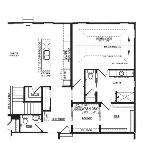 Optional Alternate Owner's Suite