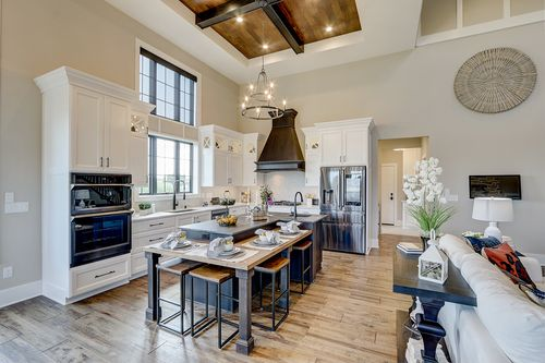 Sit in island in a new home by Tim O'Brien builders