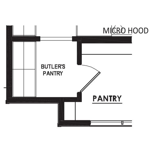 Optional Butler's Pantry